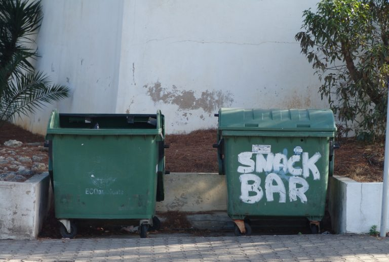 One time dumpster